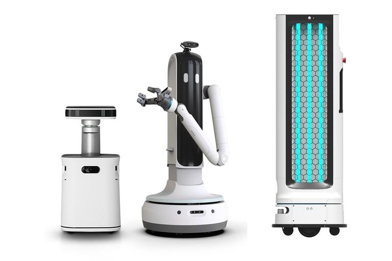 Los robots hogareños que Samsung y LG presentaron en la CES 2021