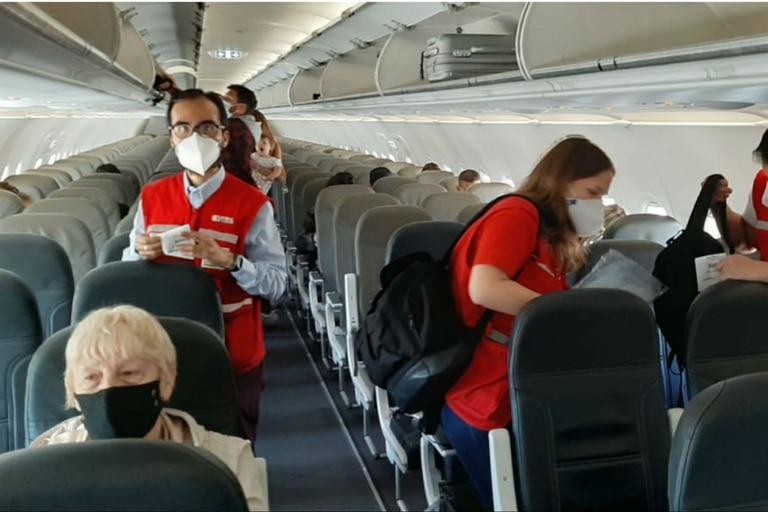 JetSmart hoy tuvo su primer vuelo a Neuquén y Bariloche