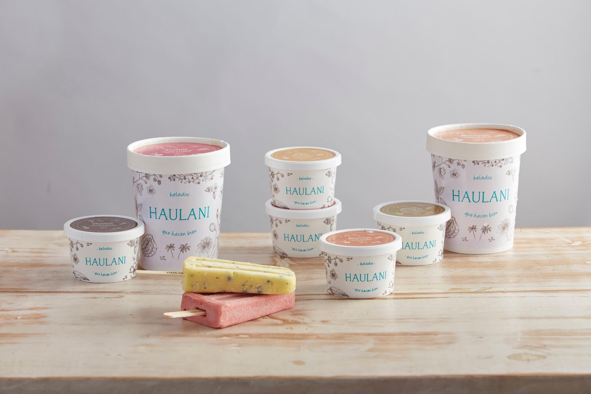 La familia de helados de Victoria Torterola