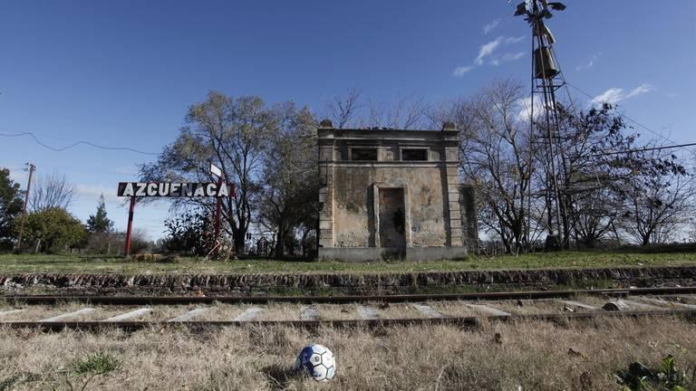 Por la antigua estación, el último tren de pasajeros pasó en 1978