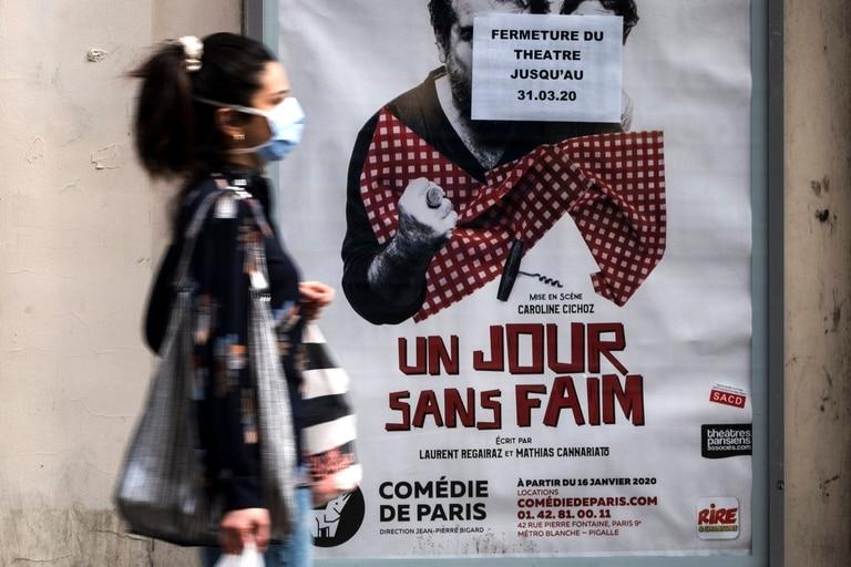 París, otras de las grandes plazas europeas afectada por la pandemia