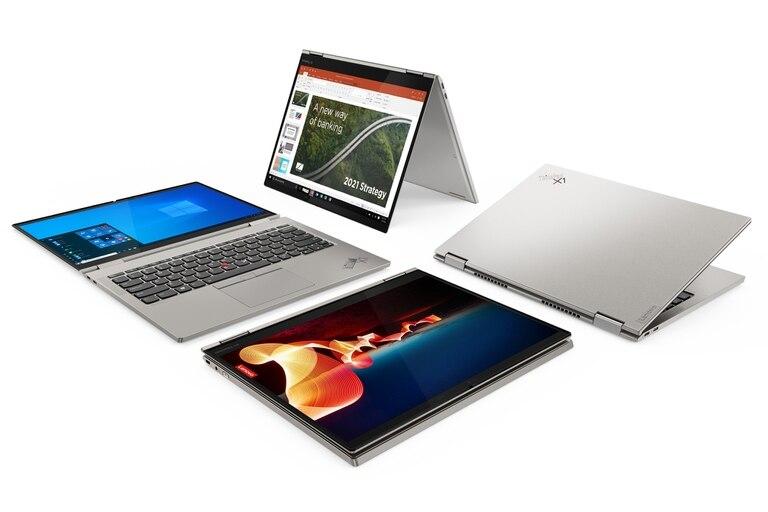La Lenovo ThinkPad X1 Titanium Yoga es la portátil más delgada de la marca, con 11 mm de grosor