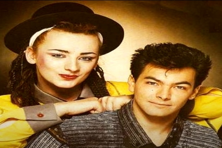 Boy George y Jon Moss, de Culture Club