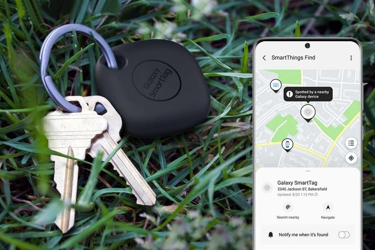 Los llaveros conectados Galaxy SmartTags son solo compatibles con los dispositivos de Samsung y saldrán a la venta a 29,99 dólares