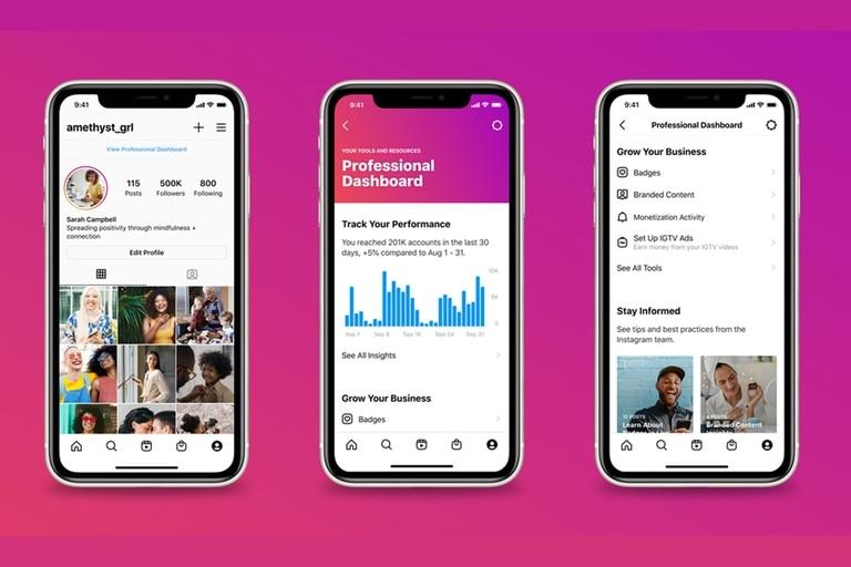 El nuevo espacio de herramientas y recursos educativos de Instagram está disponible para las cuentas de creadores y negocios
