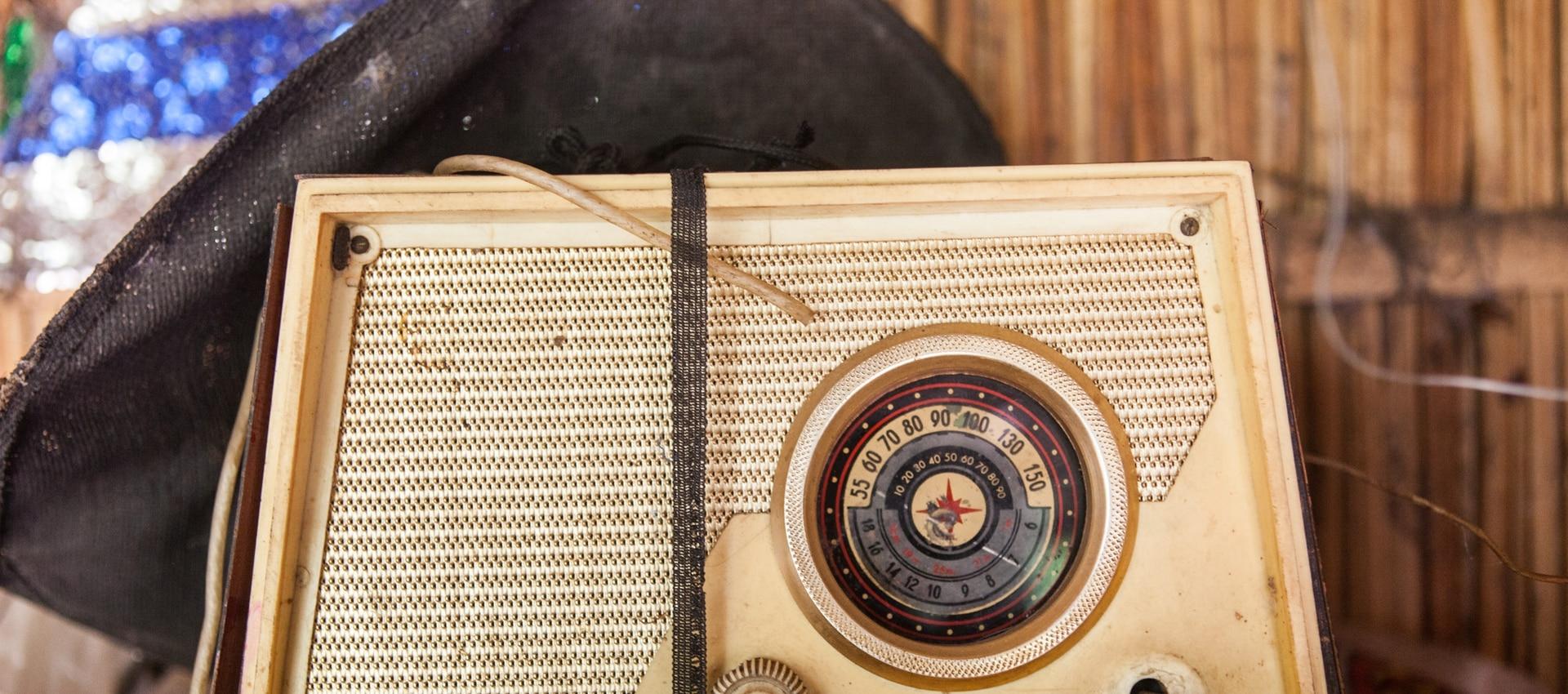 La radio de los Villagra.