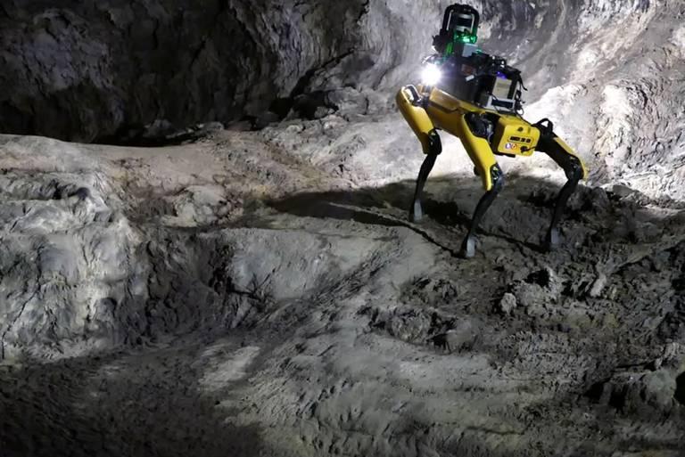 Después de los rovers, el futuro de la exploración en Marte podría estar a cargo de robots como Spot, el cuadrúpedo autónomo de Boston Dynamics