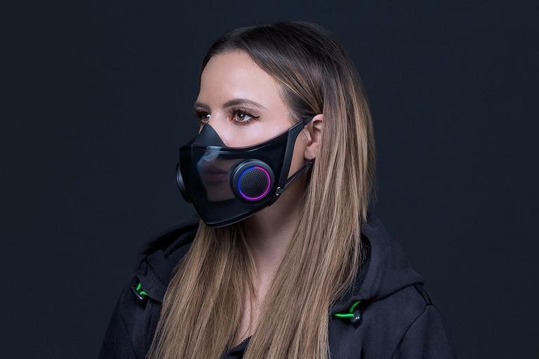 Project Hazel es el barbijo de Razer con ventiladores, micrófono y parlante