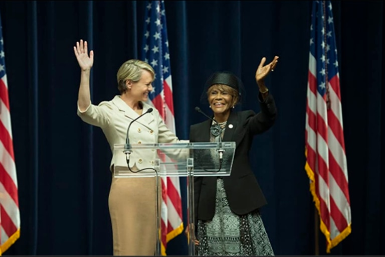 Robin Wright y Cicely Tyson en House of Cards