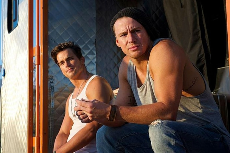 Matt Bomer y Channing Tatum en Magic Mike XXL