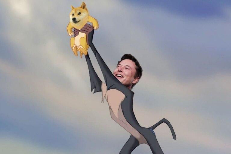 Elon Musk volvió a sacudir Twitter, esta vez respaldando a la criptomoneda Dogecoin