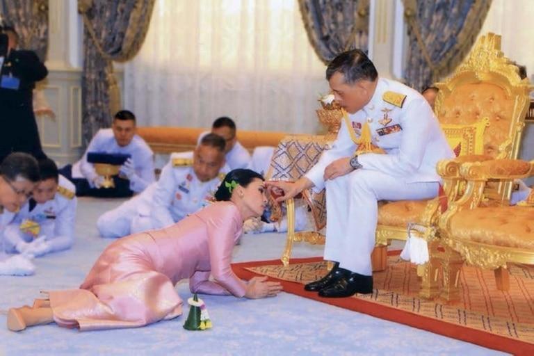 Maha Vajiralongkorn, también conocido como Rama X, protagonizó varias polémicas durante el año pasado