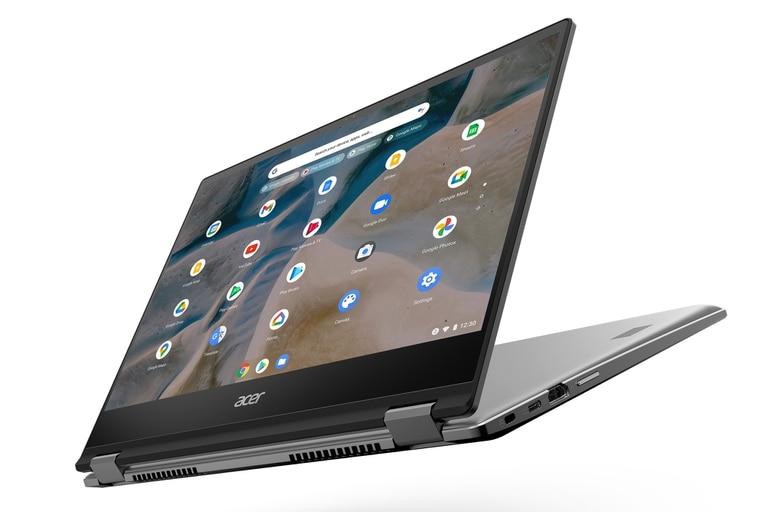 Una Chromebook Acer Spin 514, la primera con ChromeOS de la compañía en usar chips AMD