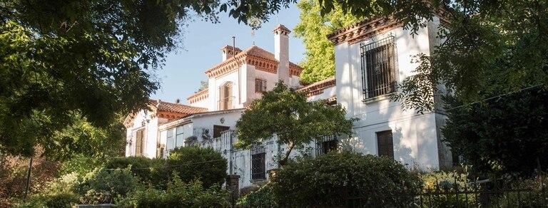 La fachada de la casa de Mujica Lainez en La Cumbre