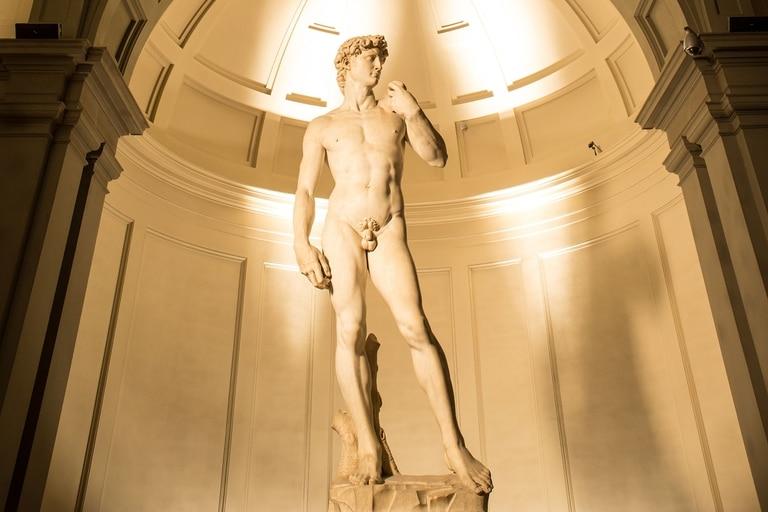 Descubrieron detalles del David de Miguel Ángel que indican el conocimiento del escultor sobre el cuerpo humano