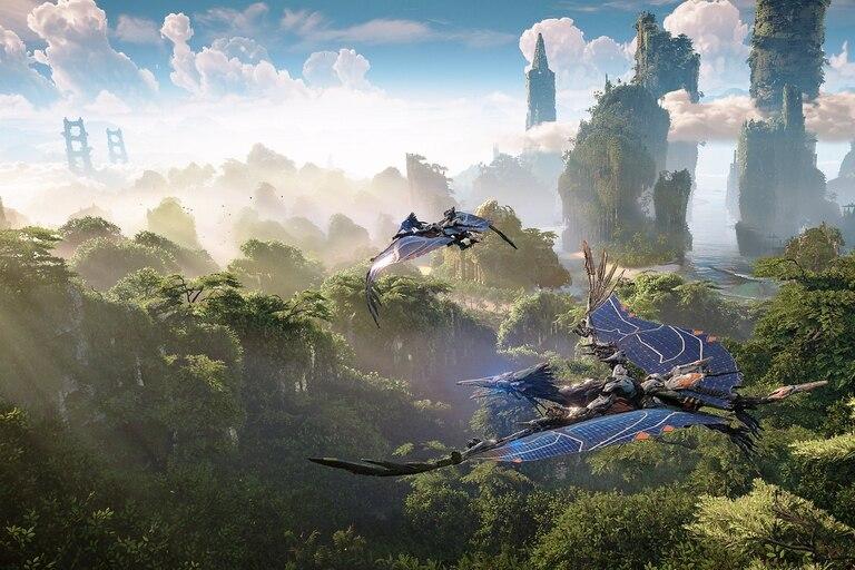 Una captura de cómo se verá Horizon: Forbidden West en una PlayStation 5