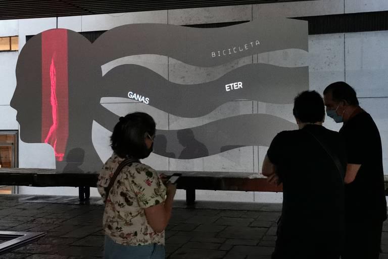 La instalación de Fargas y Golombek en la plaza seca del Cultural San Martín
